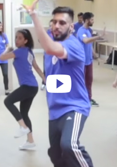 Adult Advanced Bhangra Dance Session 3 - VP Academy