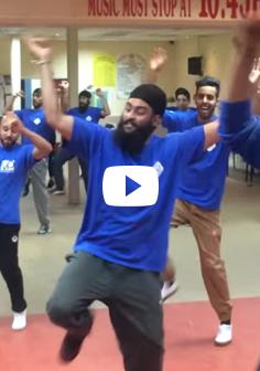 Adult Advanced Bhangra Dance Session  - VP Academy