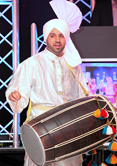 Dhol Performer