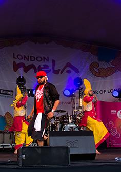 Live Bhangra Show Performance