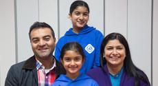 Simran, Ajun and parents